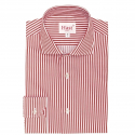 Burgundy Stripe Shirt