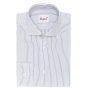 EXTRA-SLIM MIDNIGHT BLUE STRIPE SHIRT