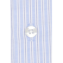 EXTRA-SLIM BLUE SHIRT WITH BLUE STRIPE