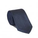 Cravate Pied de Poule Bleue