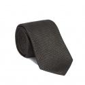 Cravate Pied de Poule Vert Kaki