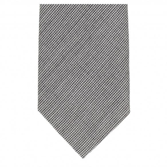 Cravate Pied de Puce Grise