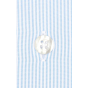 DOUBLE CUFF LIGHT BLUE STRIPE SHIRT