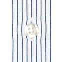 EXTRA-SLIM MIDNIGHT BLUE STRIPE SHIRT WITH FRENCH COLLAR