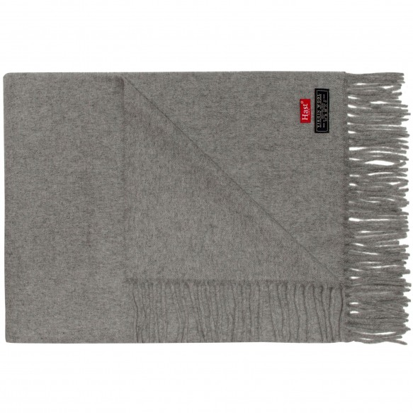 LARGE GREY SCARF