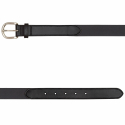 BLACK SUEDE BELT