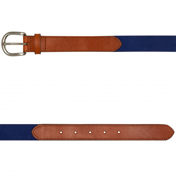 Blue Suede Belt