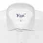 PREMIUM WHITE HERRINGBONE SHIRT