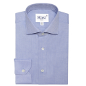 PREMIUM BLUE HERRINGBONE SHIRT