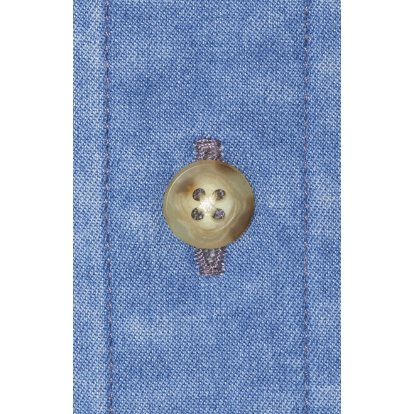 Denim Blue Shirt Without Pocket