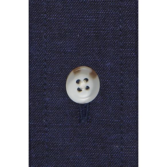 Chemise texturée bleu foncé