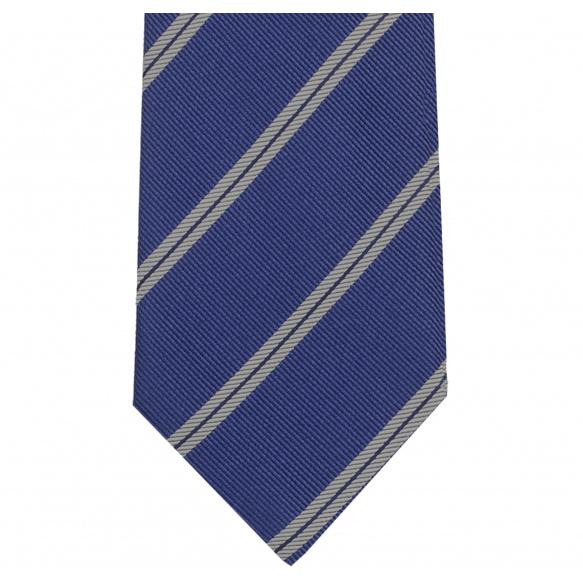 Striped Blue Tie