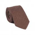 PLAIN BROWN TIE