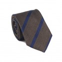 Striped Brown Tie