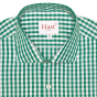 EXTRA-SLIM GREEN CHECK SHIRT