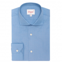 Chemise Extra-Ajustée Bleu Foncé