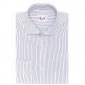 Extra-Slim Midnight Blue Stripe Shirt