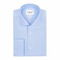 Premium Double Cuff Blue Shirt