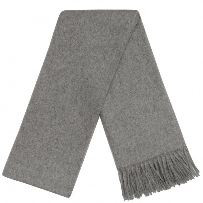 grande charpe grise en pure laine vierge d 39 italie hast. Black Bedroom Furniture Sets. Home Design Ideas