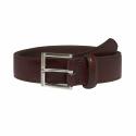 Dark-Brown Leather Belt