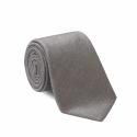 Plain Light Grey Tie
