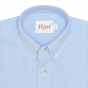 BLUE CASUAL SHIRT WITH BLUE STRIPE POCKET