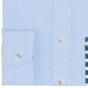 BLUE GREEN STRIPE POCKET CASUAL SHIRT