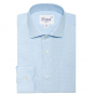 PREMIUM PIED DE PUCE LIGHT BLUE SHIRT