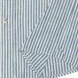 Chemise rayée bleu japonais
