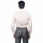 Extra-slim red small check shirt