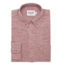 Burgundy melange shirt