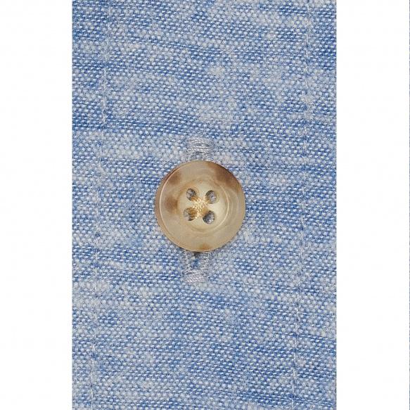 Chemise flanelle bleu chiné
