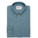 Pigeon blue flannel shirt