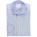 Blue White Stripe Shirt
