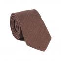 Plain Chocolate Brown Tie