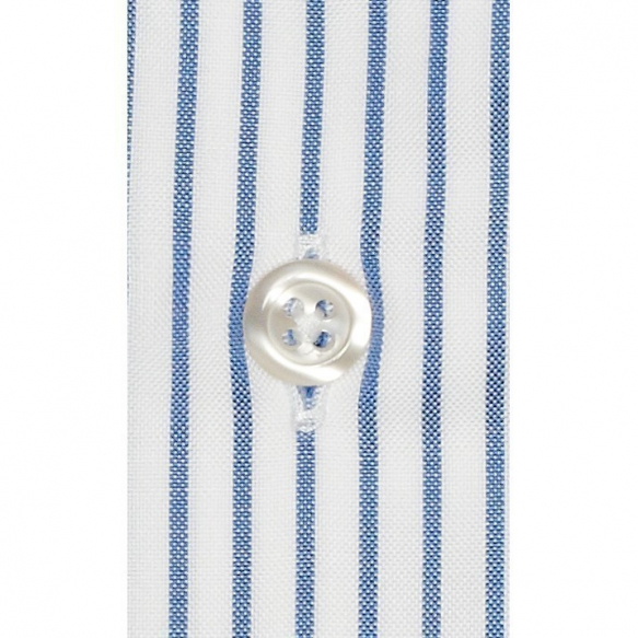 EXTRA-SLIM BLUE STRIPE SHIRT